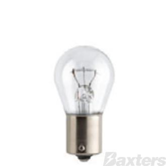 Philips Globe Tail Light 12V 21W BA15S Standard (Pack of 10)