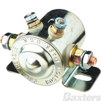 Solenoid Cole Hersee 24V 200A Normally Open Continuous Duty Metal Side Mount