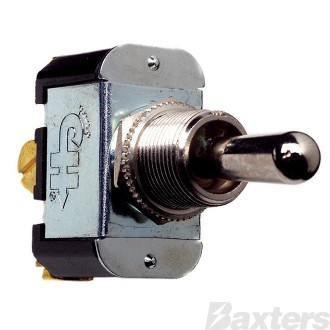 Switch Toggle Cole Hersee 12V 25A 24V 12A MON/OFF/MON SPDT Screw Terminals