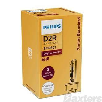 Philips HID Globe D2R 85V 35W 4200K P32D-3 Standard Boxed Single