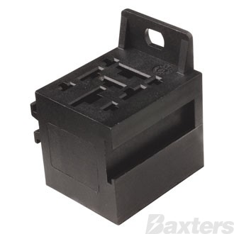 Mini Relay Base C/W Terminals Suits 4 & 5 Pin Relays