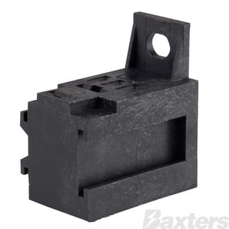 Micro Relay Base C/W Terminals Suits 4 & 5 Pin Micro Relays