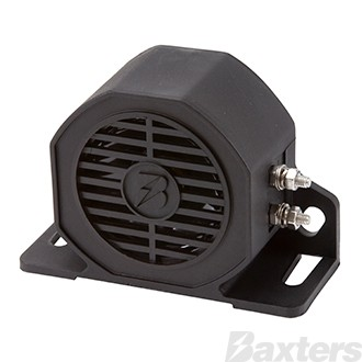 Baxters Reverse Alarm 12 - 80V 102dB Beep Sound Black Nylon Material IP67