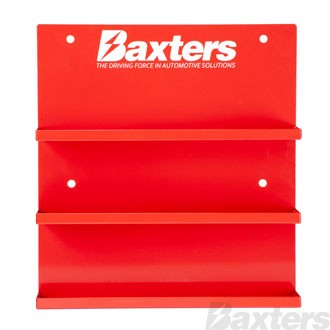Baxters Crimp Terminal Merchandiser/Rack. 3 Shelves, fits up to 15 Packs. Suits BCT crimp terminal range.