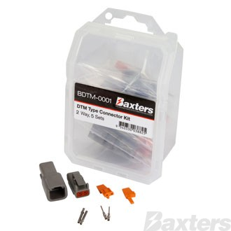 Baxters DTM Type Connector Kit 2 Way [5 sets]