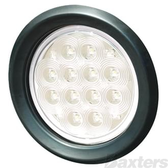 "10-30V 20 LED 4"" Round Grommet Mount Includes Grommet"