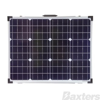 Solar Panel 12V 110W Mono Crystalline Foldable Includes 10A PWM Charge Controller