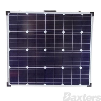 Solar Panel 12V 160W Mono Crystalline Foldable Includes 10A PWM Charge Controller
