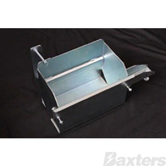 Battery Box Suits Holden Colorado Dmax Rodeo 2007 - 2011 Laser Cut 2mm Steel Zinc Coated 310[L] x 180[W] x 240[H]mm
