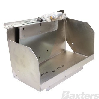 Battery Box Multi Fit Tub Mount C/W Hardware to Suit Suits Volkswagen Amarok 2009 - ON