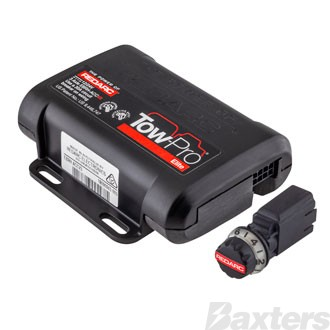 Redarc Tow Pro Elite V3 Electric Trailer Brake Controller 12/24V Input Up To 3 Axles, Remote Switch Active Calibration