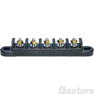 Connector Strip 5 Circuit 133 X 19 X 24mm