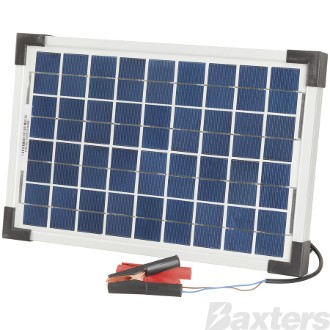 Solar Panel Battery Charger 12V 10W Includes Solar Regulator