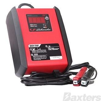 SCHUMACHER BATTERY CHARGER 12V/15A AND 24V/10A