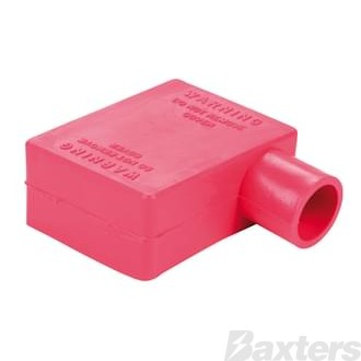 Battery Terminal & Lug Protectors Red 0 - 00 B&S Elbow